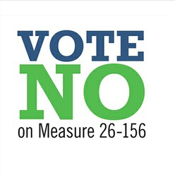 Protect our Watersheds: Vote NO on Measure 26-156!