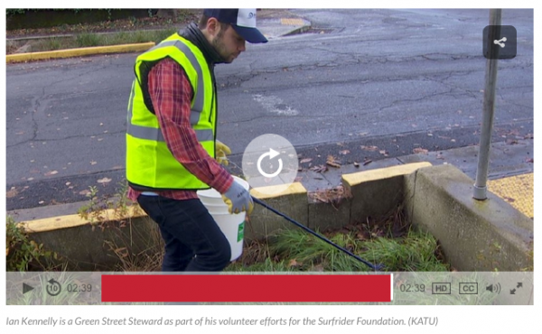 Green Streets Coverage by KATU
